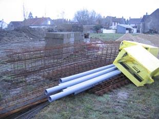 Livraison des ferraillages pour la construction