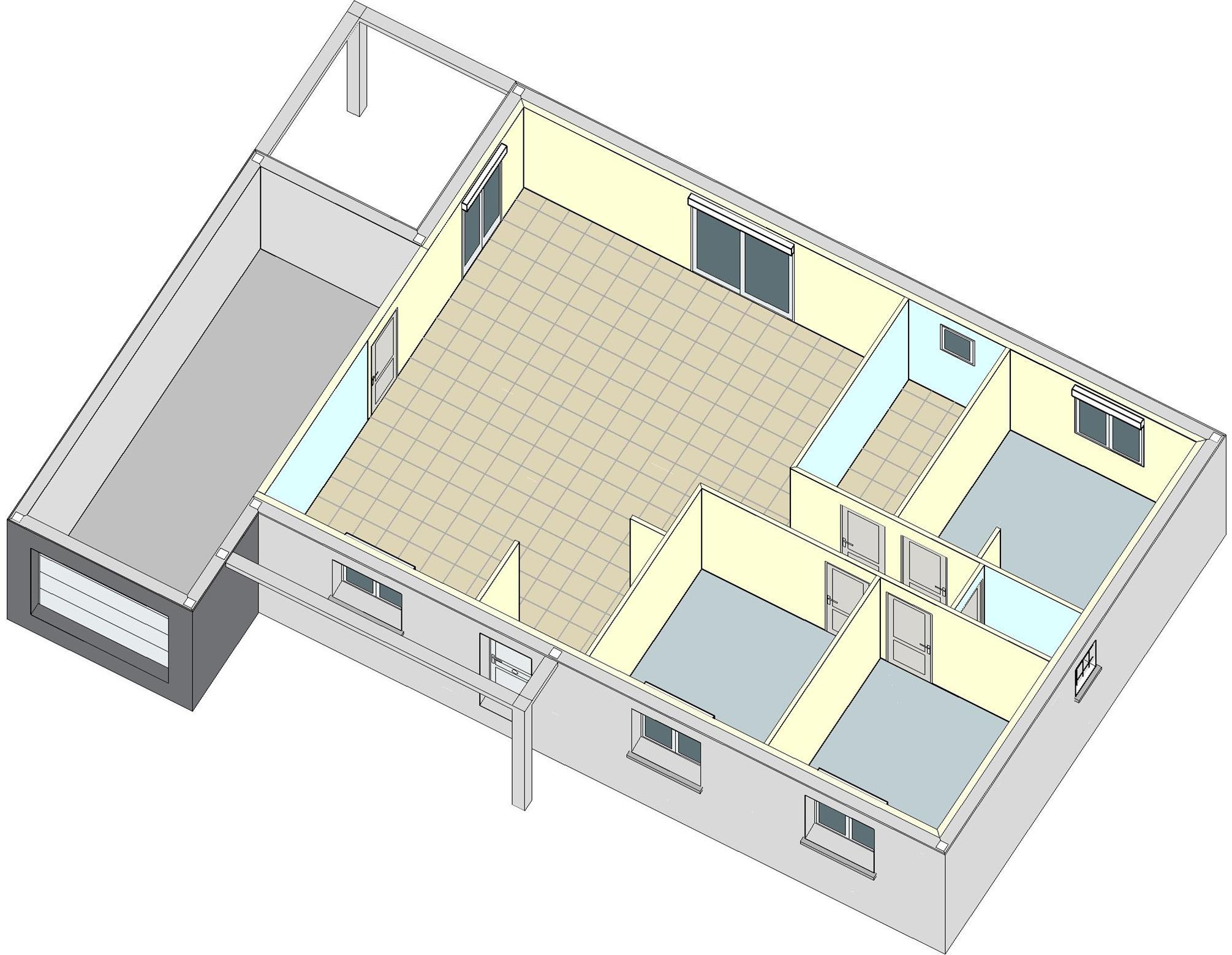 Goyave b tir ensemble construction de maisons for Construction maison 80m2