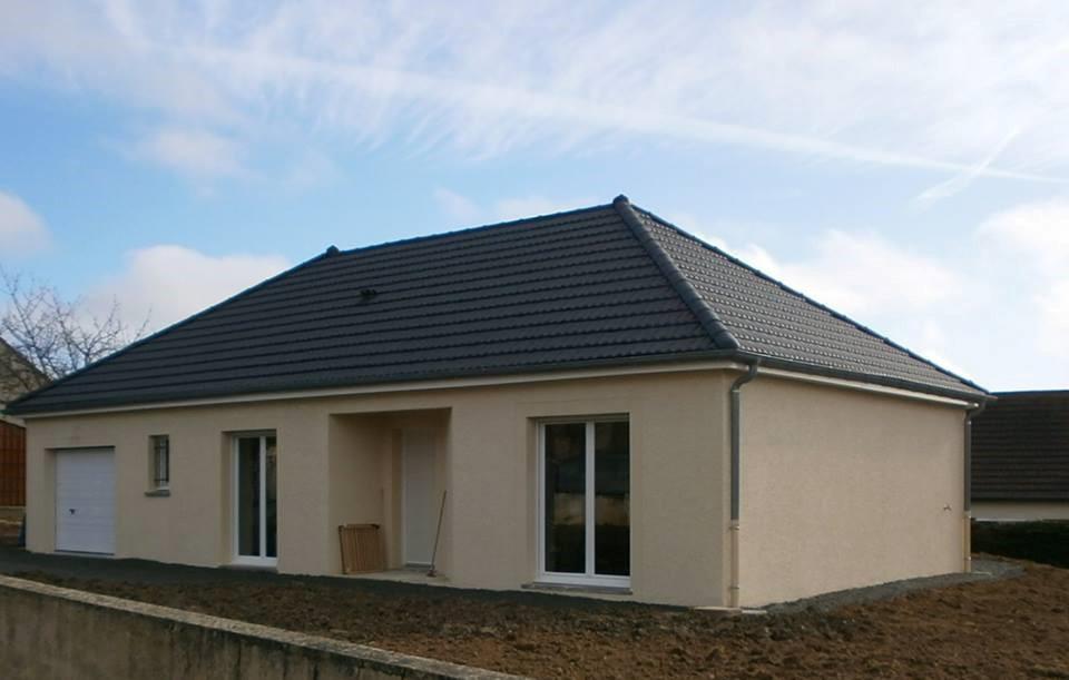 maison terrain montchanin b tir ensemble construction de maisons individuelles en briques. Black Bedroom Furniture Sets. Home Design Ideas