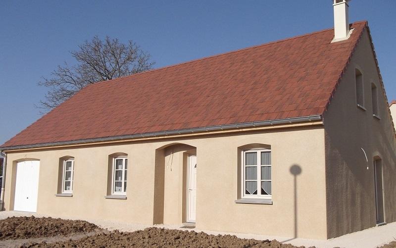 Terrain + maison à Autun